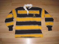 Barbarian Black/Gold Knights Rugby Jersey/Size Small/Free Shipping!