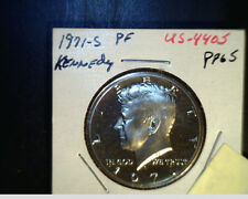 1971-S Kennedy Half Dollar, High Grade Proof (US-4405,6,7,8)