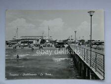 FREGENE Stabilimento spiaggia La Nave vecchia cartolina