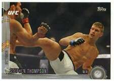 2015 Topps UFC Chronicles Silver Parallel #154 Stephen Thompson