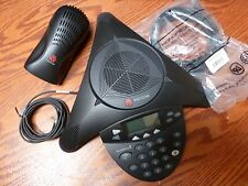 Polycom SoundStation 2 SoundStation2 SS2 Phone w/ Power Module 2201-16000-001