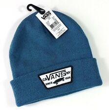 NWT! VANS Off The Wall Milford Beanie Blue Hat Lid Skate Surf One Size NEW