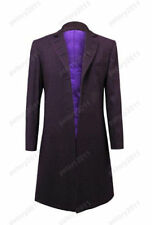 Who is Doctor Eleventh 11th Dr. Purple Coat Cosplay Costume