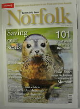 Eastern Daily Press Norfolk Magazine. Issue 157. May 2012. Saving Our Seals.