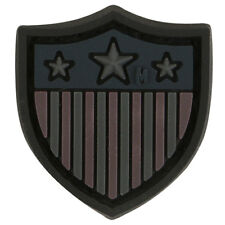 PVC Patch MAXPEDITION USA US SHIELD - MICRO circle New for 2015 - STEALTH