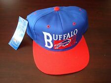 BUFFALO BILLS DPE  BIG LOGO  SCRIPT VINTAGE 90'S HAT CAP  SNAPBACK