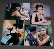 SET OF FOUR,XENA,LUCY LAWLESS 10 x 8 PHOTO'S,BARGAIN LOT.FREE POSTAGE! 25