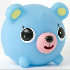Oshaberi Doubutsu Talking Squeak Squishy Press Animal Ball Cute Toy Charm (Bear)
