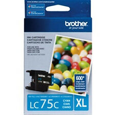 Brother LC 75C XL Color Cyan Genuine Ink Cartridge For MFC J825DW J835DW Printer