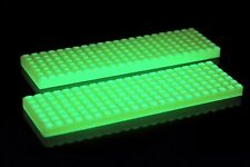 Knife Making Glow in Dark  DIY handles scales square pattern    A2*
