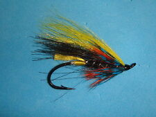 FLY FISHING FLIES - Traditional MUNRO KILLER Salmon/Steelhead Fly size 4 (6 ea.)