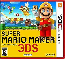 Super Mario Maker Nintendo 3DS Brand New Ships Worldwide