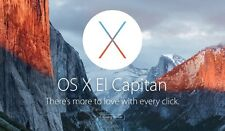 Apple Mac OS X El Capitan EASY INSTALL/UPGRADE - with Tech Support - USB Drive