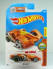 Hot Wheels 2016 #28 Epic Fast ORANGE,1ST COLOR,FRONT-PR5,REAR OH5SP,BLK BS,INTL