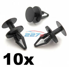 10x Ford Fiesta Focus & Mondeo Front Bumper, Wheel arch lining Splashguard Clips