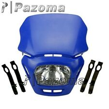 Blue Off Road Motorbike Dirt Bike Headlight YAMAHA XT660 WR250 WR125 XT125 DT50