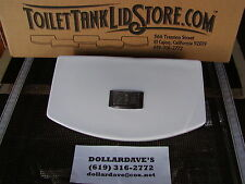 American Standard 735138 Toilet Tank Lid Dual Flush WHITE NEW! with button 17B
