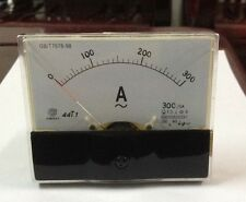 Rectangle Analog AMP Meter AC 300A Current Transformer