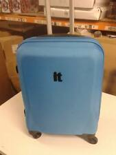 medium suitcase - blue -  wheels and handle