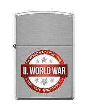 Zippo 200 world war II 1939-1945 WWII commemorative Lighter