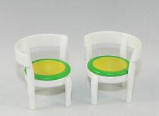 Playmobil City Life Wohnhaus Küche 2 x Stühle in weiß zu 3965 4279 #34303