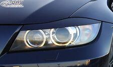 RDX Scheinwerferblenden BMW 3er E90 / E91 Böser Blick ABS Blenden Spoiler Tuning