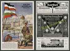 or. Reklame Yenidze Salem Dresden Tabakfabrik Hugo Zietz Soldaten Elbflotte 1916