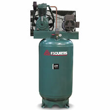 FS-Curtis (CT5) 5-HP 80-Gallon Two-Stage Air Compressor (460V 3-Phase)