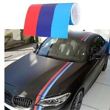 5.5M  Adhesivo Vinilo Pegatina Lista Coche 3 Colores  Para BMW M3/5 3/5 Series