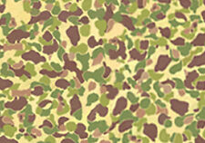 VINYL STICKER 1/6 scale -US WW2 Jungle Camo-