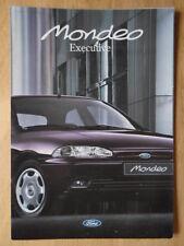 Ford Mondeo Ejecutivo 1995 belga y francesa mkts folleto de ventas