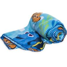 "Disney Pixar Finding Dory Nemo Super Soft Plush Travel Blanket Throw 40"" x 50"""