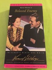 Beloved Enemy Vhs Merle Oberon Classic Black And White Movie