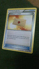 Professor's Letter Pokemon Card UNCOMMON Trainer [BREAKTHROUGH]