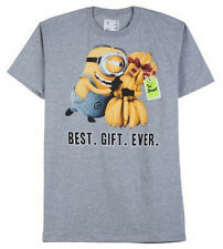 Despicable Me BEST GIFT EVER T-Shirt Mens SMALL S Tee Shirt NEW Minions Stuart