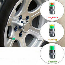 4PCS Car Auto Tire Pressure Monitor Valve Stem Caps Sensor Indicator Alert Set