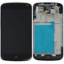 For Nexus 4 LCD Screen Display Touch Digitizer Assembly - Black