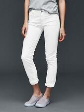Gap Women's White Authentic 1969 Best Girlfriend Jeans Size 28r 6 Regular