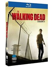 The Walking Dead - Serie TV - 4^ Stagione -Cofanetto 5 Blu Ray - Nuovo Sigillato