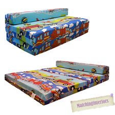 Double Kids Folding Guest Bed Transport Emergency Vehicles Boys Sofabed Sofa Mat