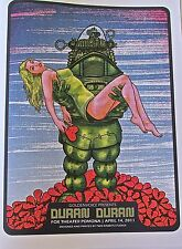 ROCK AND ROLL BAND Duran Duran Concert Mini- Poster LOS ANGELES LIVE PERFORMANCE