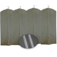 4x Kleidersack Beige 60x135cm Kleiderhülle Reise Sack Anzugschutz Schutz Hülle