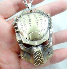Alien vs Predator Predator Mask alloy Pendant Necklace c31