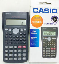 Casio FX-82MS Scientific Calculator 240 Functions 2 Line Display 3 Year Warranty