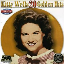 20 Golden Hits - Kitty Wells (2006, CD NEUF)