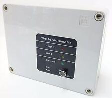 D+H WRZ Wetterautomatik Wetterzentrale Controller Regen Wind für Lüftungsanlagen