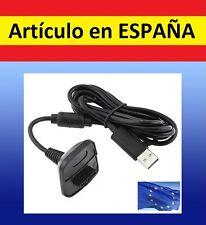 Cable cargador bateria MANDO XBOX 360 3600mAh por USB Recargable battery B7