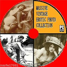 20,000+ EROTIC ART IMAGES COLLECTION ON PC CD SEMI NUDE & RISQUE TITILLATING NEW