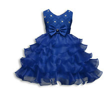 Toddler Princess Kid Little Girls Pageant Party Tutu Bow Flower Formal Dress Hot
