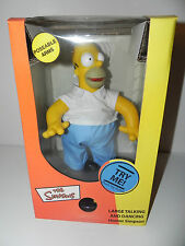 "NIB 2002 Gemmy The Simpsons Large Talking & Dancing Homer Simpson 14"" RARE"